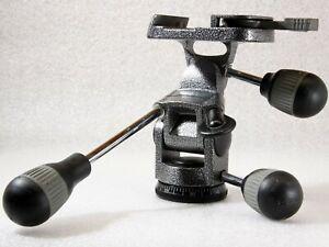 Gitzo G1172M Pan Tilt Video, Camera Head, Collection Sale