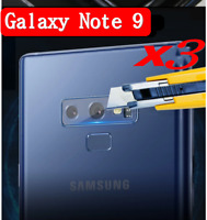 3PCS 9H Tempered Glass Camera Lens & Flash Protector For Samsung Galaxy Note 9