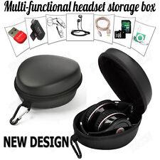 Protection Carrying EVA Hard Case Headset Bag Box For Headphone Earphone Headset