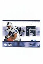 2005 Ud Game Jersey Buy Back Roy Williams Auto Jersey #18/31