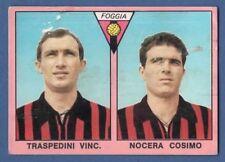 FIGURINA CALCIATORI MIRA 1967/68 - RECUPERO - TRASPEDINI/NOCERA - FOGGIA