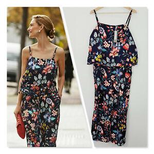 [ SUSSAN ] Womens Floral Print Jumpsuit NEW + TAGS RRP$169.95   Size AU 14