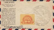 Newfoundland 1931 Maritime Airmail Essay Forgery Bogus by Roessler cover.