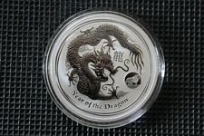 2012 Australien Lunar II Drache 1 oz Privy Mark .999 Silber Perth Mint