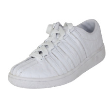 K-Swiss Classi Luxury Edition Low Womens Shoes 9001146 White Athletic Size 5.5