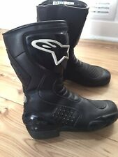 Alpinestars Black Motorcycle Motorbike Waterproof Boots Size EU 40 UK 7