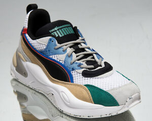 Puma x The Hundreds RS-2K Men's White Asparagus Black Lifestyle Sneakers Shoes