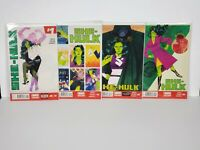 Marvel She-Hulk Comics Lot - 2014 - Issues 1-4 - FREE SHIPPING!