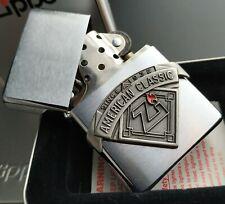 Zippo AMERICAN CLASSIC, 1937er Replica, Emblem, Rarität von 2000 (XVI) Millenium