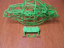 Axial SMT10 Grave Digger Tube Frame Chassis Rollcage Roll Cage Battery Box Green