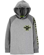 NEW OshKosh Boys Heritage Logo Hoodie Gold Yellow NWT 3 4 67 8 12 14 Sweatshirt