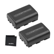 2x NP-FM50 NPFM50 Battery + BONUS for Sony DSC-R1 F707 F717 F828 S30 S50 S75 S85