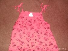 justice - girls size 14    deep pink with a cherry print- nwt