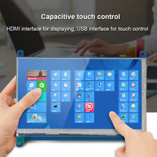 """New 7"""" 1024 x 600 Touch Screen LCD Display IPS HDMI For Raspberry Pi 3B Win10 BT"""