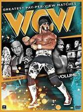 WWE: WCW Greatest Pay-Per-View Matches, Vol. 1 (DVD, 3-Disc Set)