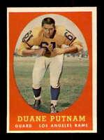 1958 Topps #55 Duane Putnam  NM/NM+ X1475418