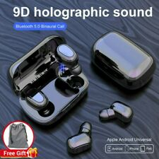 Earbuds L21 Bluetooth Earphone Headset 5.0 Tws Double Earbud for Huawei