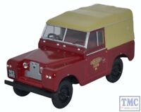 43LR2S002 Oxford Diecast 1:43 Scale Land Rover Series II SWB Canvas BR