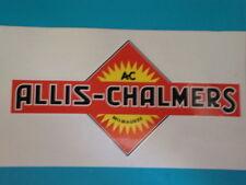 "2  ALLIS-CHALMERS VINYL STICKER  5.5""  FARM TRACTOR  FARMING OFF ROAD JEEP"