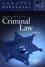 Principles of Criminal Law (Concise Hornbook Series) by Lafave, Wayne R.