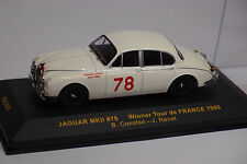 IXO JAGUAR MKVII #78 TOUR DE FRANCE 1960 1/43