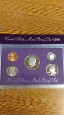 UNITED STATES MINT PROOF SET 1990 COIN SET NEW IN ORIGINAL PACKAGE