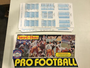 Strat-O-Matic PRO FOOTBALL game w/ 2007 NFL Teams Super Deluxe Version