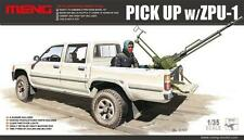 Meng Model VS-001 1/35 Pickup w/Zpu-1