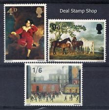 GB 1967 British Paintings Complete Set SG748-750 Unmounted Mint