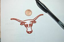 "Texas Longhorns 3 1/2"" Steer Head Brown/White Logo Patch College"