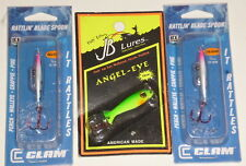 Clam/JB Lures Ice Spoon Pack (Lot of 3)