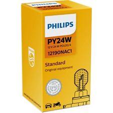 PHILIPS PY24W 12V 24W PGU20/4 orange Glühlampe Glühbirne - 12190NAC1