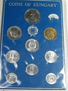 1979 Coins of Hungary 9 Coin Mint Set.  #29