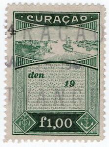 (I.B) Netherlands Antilles (Curacao) Revenue : Duty Stamp 1G