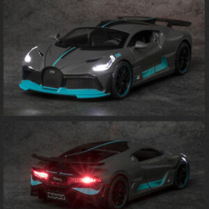 1/32 Alloy Bugatti DIVO Super Sports Car Model Toys Vehicle For Children Gift
