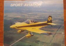Sport Aviation Magazine October 1981 EAA Oshkosh '81 500 mustang II