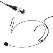 Headworn Headset Microphone For Audio Technica AEW 5000a R5200 1000a 4000a R4100