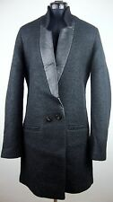 REPLAY Wollmantel Coat Damen Mantel Jacke Smoking-Stil Black Gr.S NEU mit ETIKET