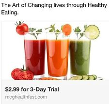 McG HealthFest 3-Day Plan, Online Weight Loss Plan