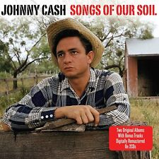 Johnny Cash Songs Of Our Soil/Hymns By Johnny Cash 2-CD NEW SEALED Remastered