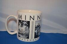 18oz Starbucks Ceramic Coffee Mug Series 2003 Minneapolis Skyline Barista