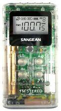 Sangean AM FM Pocket Receiver - DT-120CLT
