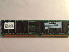 HP 261583-031 256MB PC2100 ECC Reg CL2.5 DDR Memory SAMSUNG M312L3310DTO