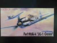 "Focke Wulf Fw - 190, A - 4, ""JG-1 Oesau"", Dragon, Scale:1/48, Kit:5524,Super"