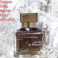 AUTHENTIC Maison Francis Kurkdjian Masculin Pluriel EDT SAMPLE