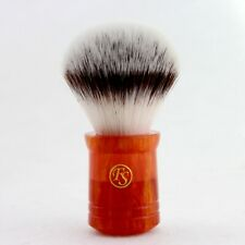 Frank Shaving G4 Synthetic Fiber Shaving Brush Faux Agate Handle 26MM Knot Size