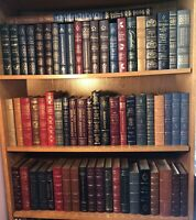 66 BOOK COLLECTION w/notes EASTON PRESS Library of the Presidents set 2 signed