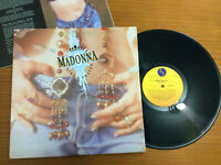 MADONNA LIKE A PRAYER LP 1989 BRAZIL PROMO GOLD STAMP INNER EXCELLENT CONDITION