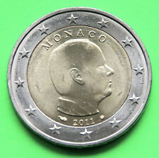 "2 Euro Kursmünze Monaco 2011 ""Fürst Albert II."""