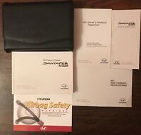 2013 Hyundai Santa Fe Owner's Manual Set for Sale! FREE SHIPPING